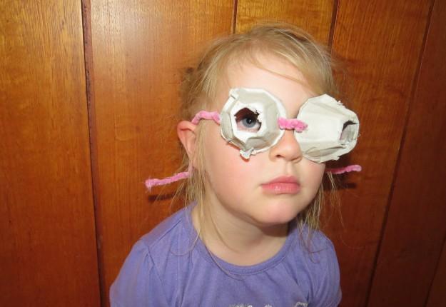 Egg Carton Sunglasses